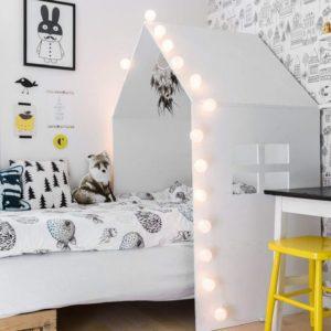 domček na detskú posteľ