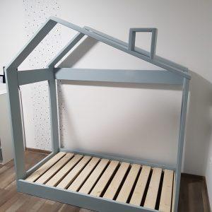 Detské postele - drevené domčeky