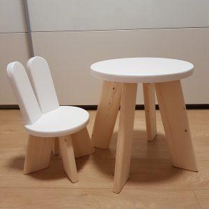 Detský nábytok - moderný drevený