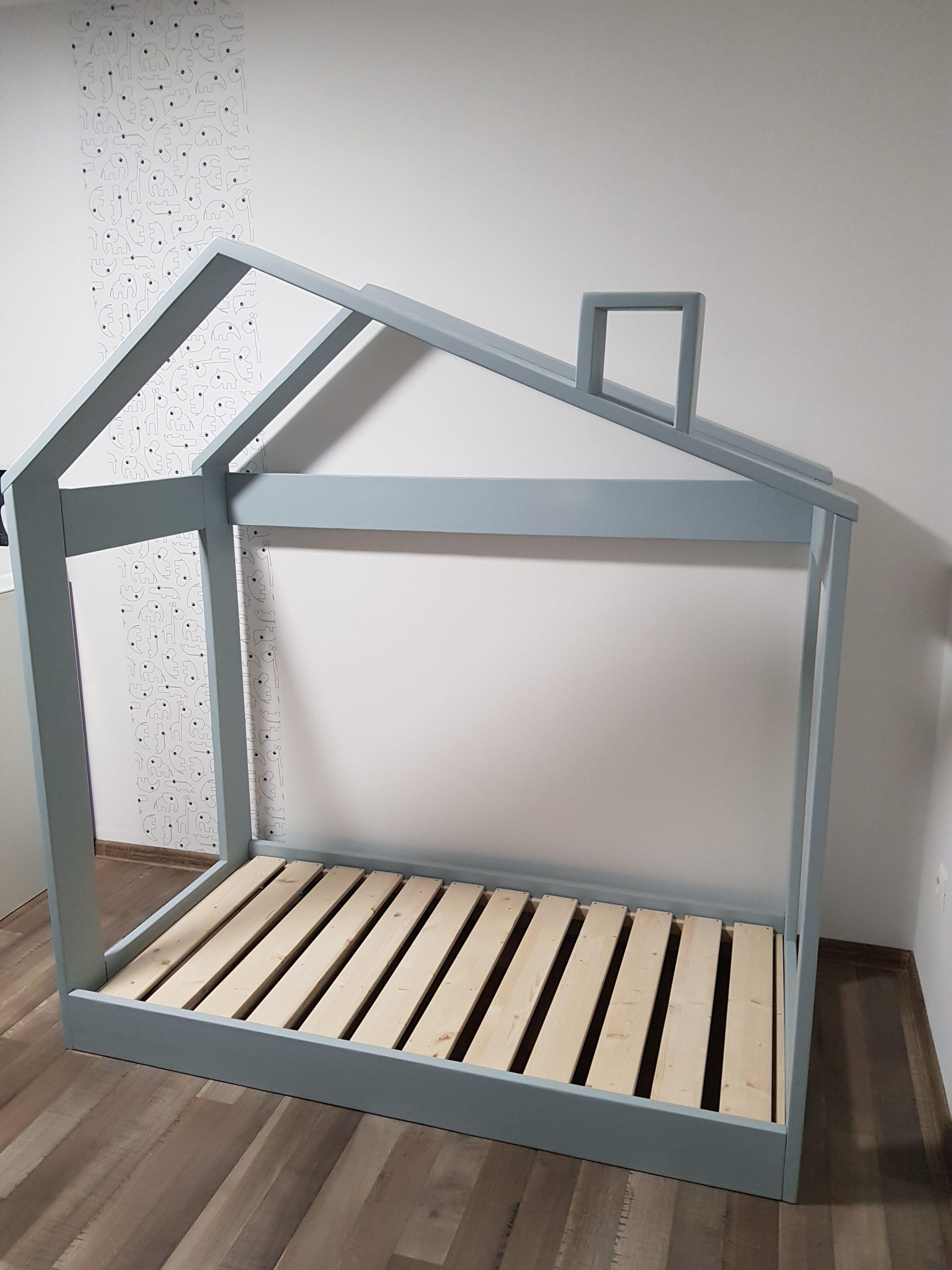 Detská posteľ so strieškou MIŠKA Image