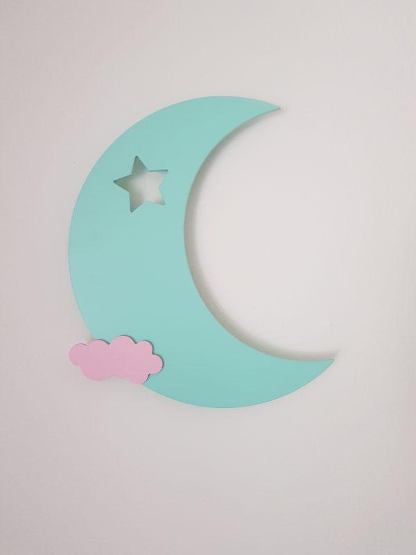 detská nočna lampa mesiac