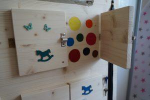 Montessori Busy board - aktivity board Image