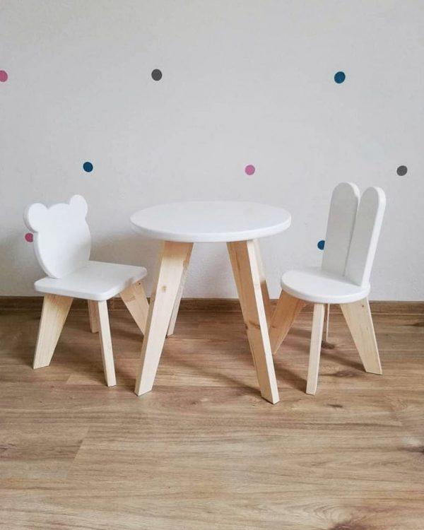 stolicka a stolik pre deti