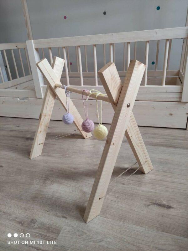 drevená hrazdička