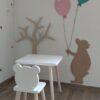 stolička a stolík pre deti