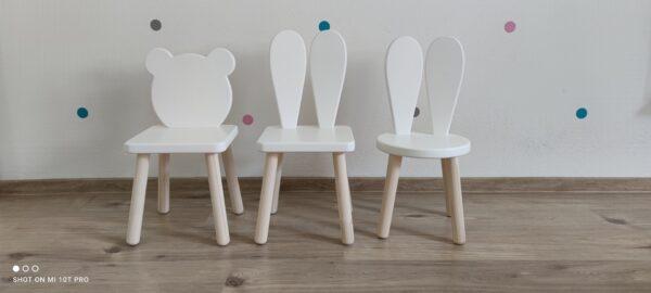 detská stolička macko