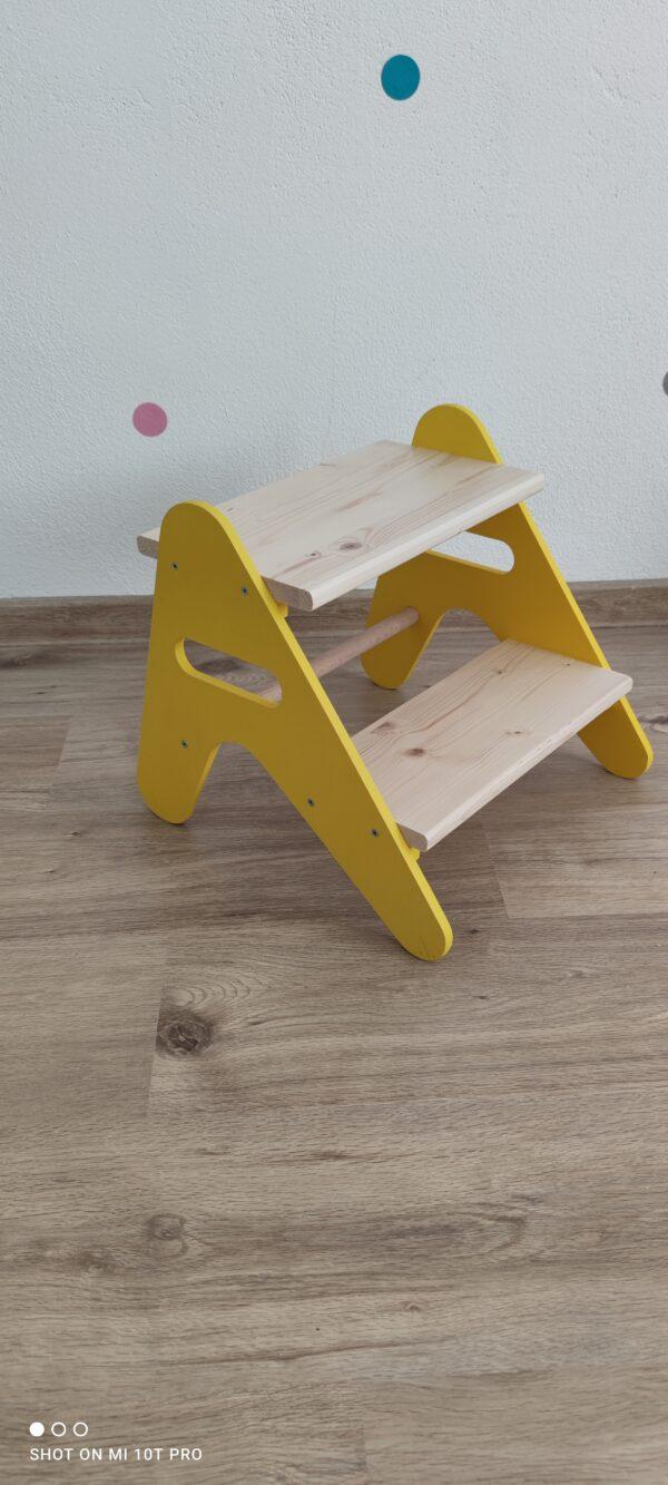 drevené schodíky