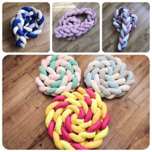 Textil - pletené mantinely
